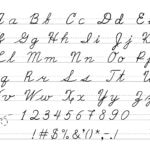 cursive writing practice for dysgraphia