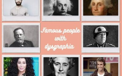 Famous people with dysgraphia